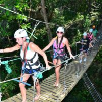 Zip Line And River Tubing adventure