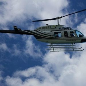Helicopter Flights From Strawberry Hill Resort To Golden Eye Resort