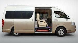 Kingston Hourly Van Chauffeur Service