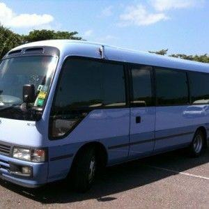Jamaica Deluxe Coaster Bus Rental With Driver