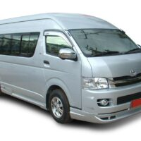 Enjoy our Dulux Hiace Luxury Vehicles