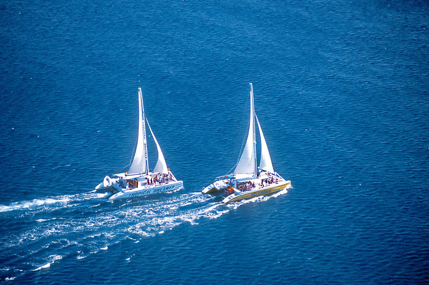 Negril Beach & Catamaran Cruise with Ricks Cafe on