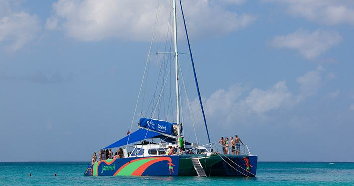 catamaran-rum-punch-party-cruise-to-negril - Jamaica Quest Tours