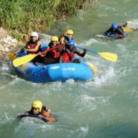 Private Transport To White Water River Kayaking and Beach Adventure
