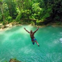 """Let us take you to Jamaica's hidden gems """"Blue Hole Secret Falls"""" a beautiful and spectacular waterfalls."""
