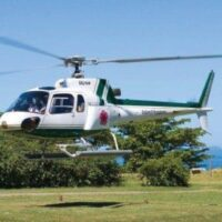 What better way to arrive at the Boscobel Resort in St Mary than to take a Helicopter ride from the Norman International Airport(Kin) and arrive in style and on time.