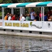 With this 1 1/2 boat tour it allows you to explore the beauty of Jamaica's South Coast on one of the largest navigable river and wetland area.It got its name because of the darkness of the riverbed due to thick layers of decomposing vegetation.